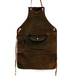 J M Plain Leather Apron