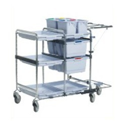 Waste Plate Collecting Trolley
