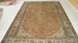 Silk On Cotton Carpets