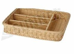 PP Rattan Type Basket