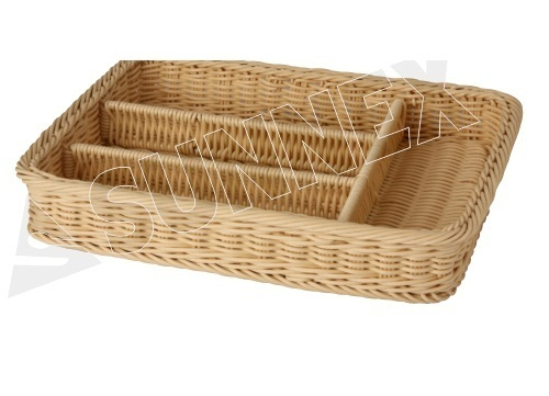 PP Rattan Type Basket