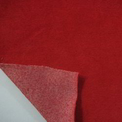 Cotton Velour Single Dye Fabric