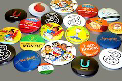 Promotional Button Badges