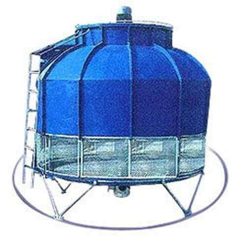 Round FRP cooling towers, Capacity: 3tr To 1000tr, for Industrial