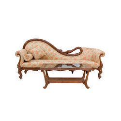 Swan Design Couch Contemporary Wooden Furniture Vishwakarma