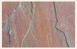 Multi Pink Natural Slate Stone, Slab