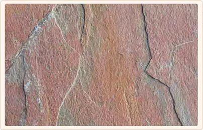 Multi Pink Natural Slate Stone
