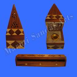Wooden Incense Cone Stand