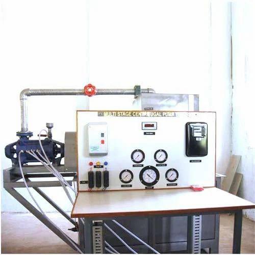 hydraulic lab equipment multi stage centrifugal pump test rig rh indiamart com Centrifugal Pump Cutaway Centrifugal Water Pumps
