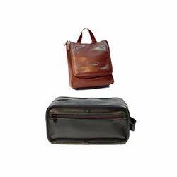 ce3f566323a Leather Toiletry Bag in Mumbai, चमड़े का टॉयलेटरी ...