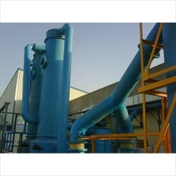 Double Stage Scrubbing System