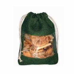 Jute Drawstring Pouch Bag