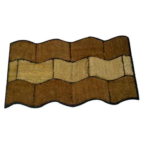 TJP Rubberised Coir Mats, Size: 45 x 75 cm, for Bathroom