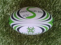 Rubber Rugby Match Ball