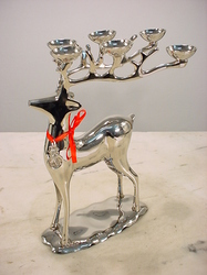 Candle Holders - Reindeer Candle Holder Manufacturer & Exporter ...
