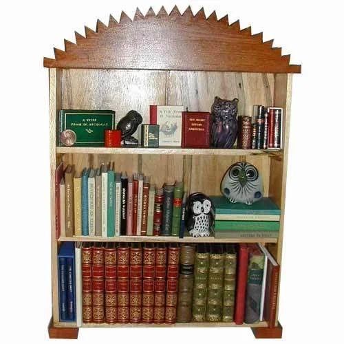 Modern MFM Library Bookshelf