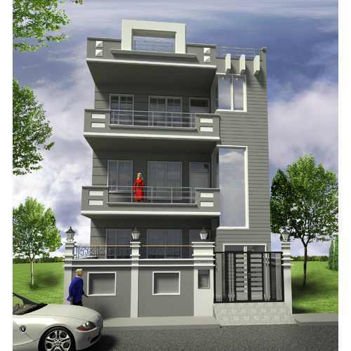 Technical Elevation Design In Gurgaon By Space Age