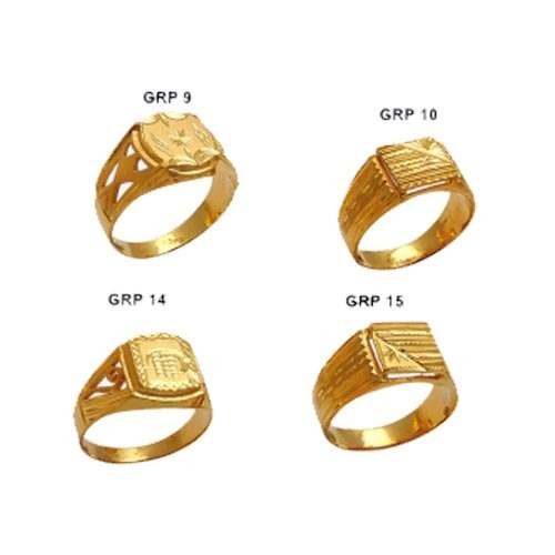 Plain Casting Gold Ring Gold & Gold Jewellery