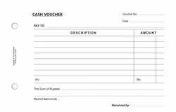 Cash Voucher Book