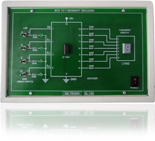 Bcd To Seven Segment Decoder Trainer Electronics Trainers