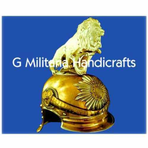 Saxon Lion Helmet G Militaria Handicrafts Exporter In Rakshaw