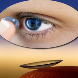 Contact Lenses - Soft 38 Blue/Clear Tint