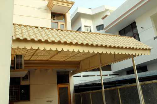 Frp Khaprail Shed With Chik Sheet Shape Rectangular Rs 180 Square Feet Id 2361907912