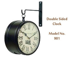 Hanging Clocks Double Sided Clock Retailer Service Provider From Mumbai