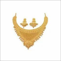 Designer Gold Jewellery Necklaces Set Keshab Mahalaxmi Jewelry