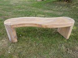 S Shape Garden Bench