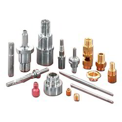 Mild Steel Polished Precision Turned Parts, Packaging Type: Box