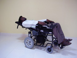 Reclining Motorised Wheelchair