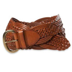3b87b7ce334ef Ladies Braided Leather Belts - View Specifications   Details of ...