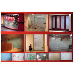 White Decorative Glass Films, Packaging Type: Box, for Office