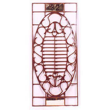 Iron Window Grills Oval Design Grill Manufacturer From
