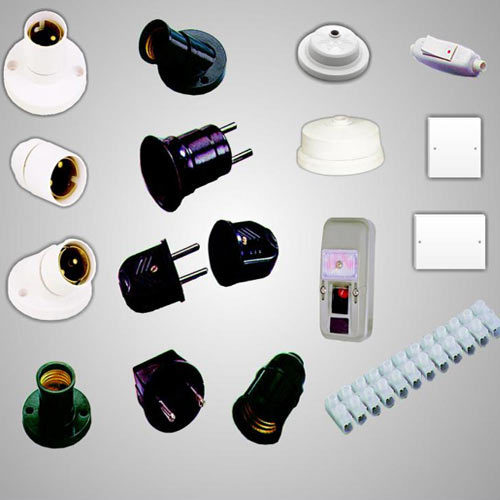 switchgears & wiring accessories exporter from mumbai electrical materials list with pictures at House Wiring Product