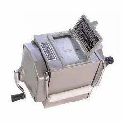 Meggar Hand Driven Generator Type Insulation Tester