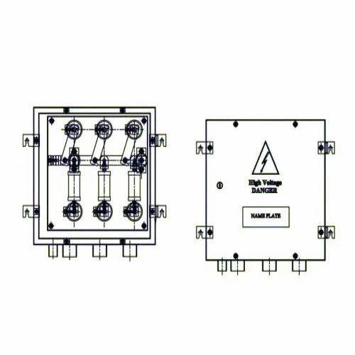 Link Box Coaxial Cross Bonding Link Box Manufacturer