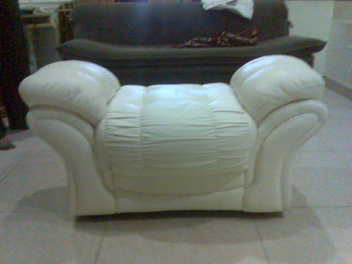 backless sofa