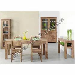 Wooden Dining Set - Wooden Furniture