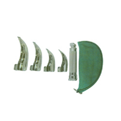 Laryngoscope Blades With Handle & Pouch