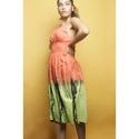 Cotton Tie Dye Dress