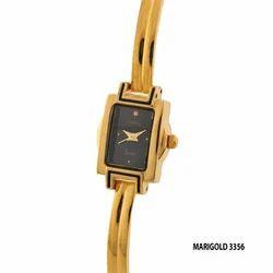 Ladies Wrist Watch Meri Gold