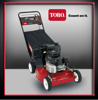 Toro Red Heavy Duty Lawn Mowers