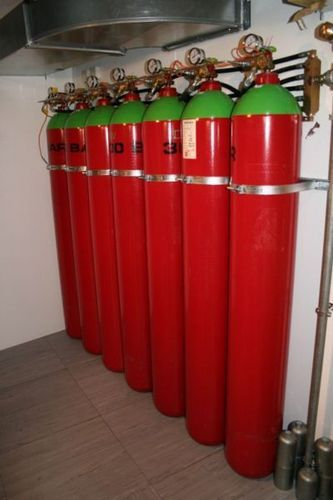 Gaseous Fire Suppression System - Sea Max Fire Engineering