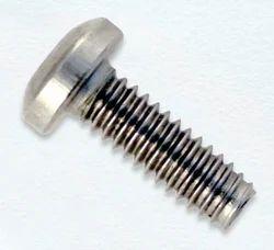 Round Mild Steel Triangular Thread Screw, Packaging Type: Box