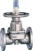 Cast Iron Rubber Lined Diaphragm Valve