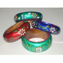 Fashion Jewelry Wooden Painted Bangle