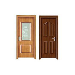 Finished Solid Wood Wooden Doors
