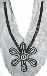 Decorative Beaded Sequins Necklines
